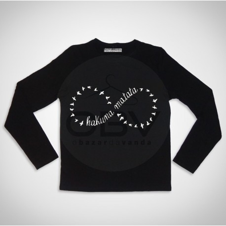 "Long Sleeve T-shirt  ""Gun"""
