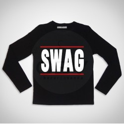 "Long Sleeve T-shirt  ""SWAG"""