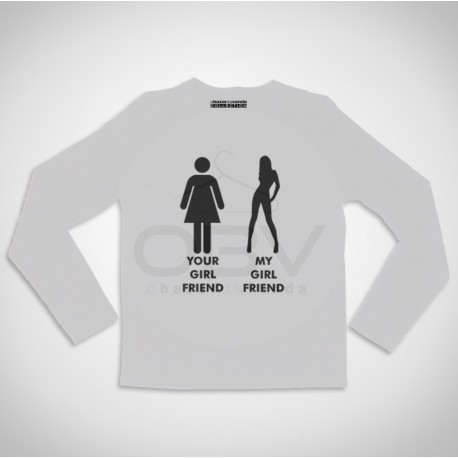 "Long Sleeve T-shirt  ""Young Wild and Free"""