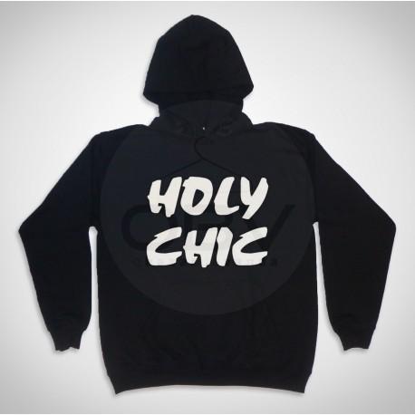 "Sweatshirt Com Capuz ""Holy Chic"""