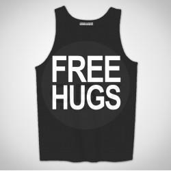 "Singlete ""Free Hugs"""
