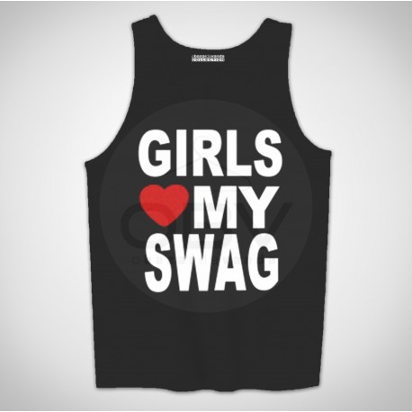 "Singlete ""Girls Love My Swag"""