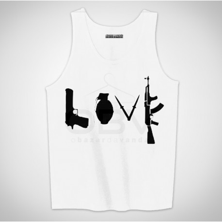 "Singlete ""Love Guns"""