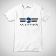 T-Shirt Aviator Logo