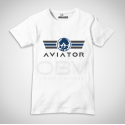 T-Shirt Aviator Logo