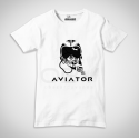 T-Shirt Aviator Pilot Skull