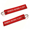 """Remove Before Flight"" Keychain"