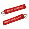 """Remove Before Flight"" Keychain"