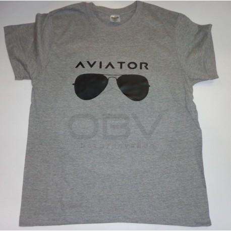 T-Shirt Aviator Glasses