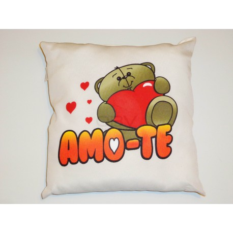 "Almofada ""Amo-te"""
