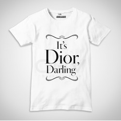 "T-Shirt ""It's Dior Darling"""