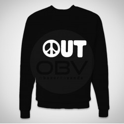 "Sweatshirt ""Peace Out"""
