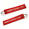 "Pack 5 x Porta-Chaves ""Remove Before Flight"""