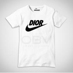 "T-Shirt ""Dior"" Branca"