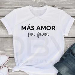 "T-Shirt ""Más Amor"""