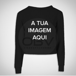 Crop Sweat Personalizável