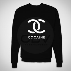 "Sweatshirt ""Cocaine"""