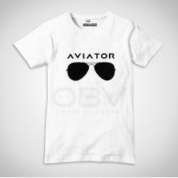 T-Shirt Aviator Glasses